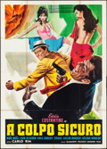 "Movie Posters:Foreign, Lock Up Your Spoons (Gaumont, R-1966). Italian 4 - Fogli (55"" X 76.5""). Foreign. World Wide English Title: The Gangsters...."