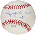Autographs:Others, Roger Clemens Single Signed Baseball and Signed Mini Home Plate.....