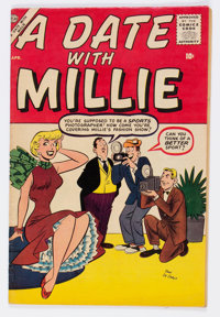 A Date With Millie #4 (Atlas/Marvel, 1957) Condition: FN+