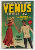 Golden Age (1938-1955):Romance, Venus #7 (Timely, 1949) Condition: VG....