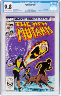 The New Mutants #1 (Marvel, 1983) CGC NM/MT 9.8 Off-white to white pages