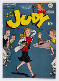 A Date With Judy #1 Carson City pedigree (DC, 1947) Condition: VF+