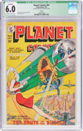 Golden Age (1938-1955):Science Fiction, Planet Comics #61 Toledo Pedigree (Fiction House, 1949) CGCQualified FN 6.0 Off-white to white pages....