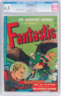 Golden Age (1938-1955):Horror, Fantastic #8 (Youthful Magazines, 1952) CGC FN+ 6.5 Cream tooff-white pages....