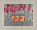 Prints & Multiples, James Rosenquist (1933-2017). Sight-Seeing, 1972. Lithograph and screenprint in colors on wove paper. 22-1/2 x 28-3/4 in...