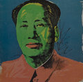 Prints & Multiples, After Andy Warhol . Mao Tse-Tung Announcement Card, 1972. Offset lithograph in colors on paper. 7 x 7 inches (17.8 x 17....