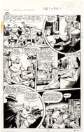 Original Comic Art:Panel Pages, Matt Baker Fight Comics #54 Story Page 3 Kayo Kirby OriginalArt (Fiction House, 1948)....