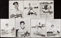 Baseball Cards:Lots, Circa 1955 Brooklyn Dodgers Premiums Collection (7). ...