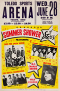 Music Memorabilia:Posters, Sam The Sham And The Shamettes/Tommy James Toledo Sports ArenaConcert Poster (1967). Very Rare....