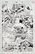 Original Comic Art:Panel Pages, Dale Keown and Mark Farmer Incredible Hulk #391 Page 22Original Art (Marvel, 1992)....