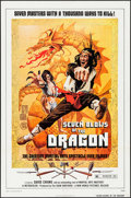 "Movie Posters:Action, Seven Blows of the Dragon (New World, 1973). One Sheet (27"" X 41"").Action.. ..."