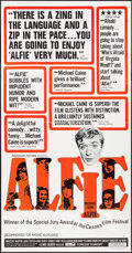 """Movie Posters:Comedy, Alfie (Paramount, 1966). Three Sheet (41"""" X 79""""). Comedy.. ..."""
