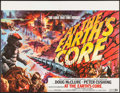 "Movie Posters:Science Fiction, At the Earth's Core & Other Lot (British Lion, 1976). BritishQuads (2) (30"" X 40"", 29.75"" X 39.75""). Science Fiction.. ...(Total: 2 Items)"