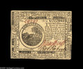 Colonial Notes:Continental Congress Issues, Continental Currency February 17, 1776 $6 Choice About New. Abright and beautiful Six Dollar Continental, held from the Cho...