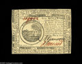 Colonial Notes:Continental Congress Issues, Continental Currency May 9, 1776 $6 Very Choice New. With just atouch more margin, this beautifully bright, boldly signed C...