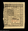 Colonial Notes:Delaware, Delaware January 1, 1776 10s Choice New. Hugely margined all around with the bottom margin running all the way to the deckle...
