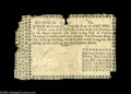 Colonial Notes:Georgia, Georgia 1776 1s/6d Fine. There are a number of pieces missing fromthe edges and corners, but all of the text is present sav...