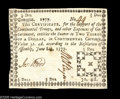 Colonial Notes:Georgia, Georgia June 8, 1777 $2/3 Extremely Fine-About New. This is one ofthe finest examples we've seen of a Fractional denominati...