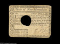 Colonial Notes:New Hampshire, New Hampshire April 29, 1780 $2 Very Fine. Canceled with the normallarge hole and with slightly rounded corners. From the...