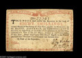 Colonial Notes:New York, New York August 25, 1774 (Water Works) 8s Extremely Fine. Save forsome likely removable mounting stains in each of the four...