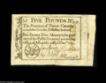 Colonial Notes:North Carolina, North Carolina December, 1771 L5 Extremely Fine. Beautifully margined all around with bold signatures and a tremendous overa...