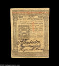 Colonial Notes:Pennsylvania, Pennsylvania October 1, 1773 50s Choice About New. Bright, verywell margined and beautifully signed. From the William Was...