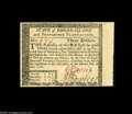 Colonial Notes:Rhode Island, Rhode Island July 2, 1780 $3 Superb Gem New. This $3 is every bitas nice as the first two notes....