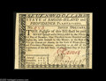 Colonial Notes:Rhode Island, Rhode Island July 2, 1780 $7 Gem New. Very nicely centered on theface, but the back just touches in two places....