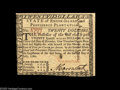 Colonial Notes:Rhode Island, Rhode Island July 2, 1780 $20 Choice New. The left-hand face margin and part of the bottom margin are cut in a bit on this $...