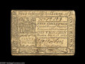 Colonial Notes:Virginia, Virginia July 17, 1775 5s Extremely Fine. Utterly problem free,without a hint of a repair or restoration. A very tough issu...