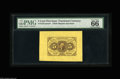 Fractional Currency:First Issue, Fr. 1231SP 5¢ First Issue Wide Margin Pair PMG Gem Uncirculated 66.A beautifully matched, essentially flawless pair. The Ba... (2items)