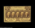 Fractional Currency:First Issue, Fr. 1279 25¢ First Issue Very Choice New. Well perforated allaround, with a strip of margin outside the perforations at the...
