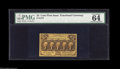 "Fractional Currency:First Issue, Fr. 1279 25¢ First Issue PMG Choice Uncirculated 64. The commentsare, ""exceptional color,"" and they're indeed correct. The ..."
