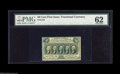 Fractional Currency:First Issue, Fr. 1310 50¢ First Issue PMG Uncirculated 62. The top margin isquite tight, but the note is nicely perforated all the way a...
