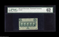Fractional Currency:First Issue, Fr. 1310 50¢ First Issue PMG Uncirculated 62. Perforated all around, but touching at the top and left....
