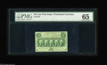 Fractional Currency:First Issue, Fr. 1312 50¢ First Issue PMG Gem Uncirculated 65. A beauty with even margins and ideal centering on both sides....