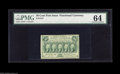 Fractional Currency:First Issue, Fr. 1312 50¢ First Issue PMG Choice Uncirculated 64. With a littlemore margin at the right end of the face, this note would...