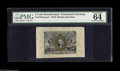 "Fractional Currency:Second Issue, Fr. 1232SP 5¢ Second Issue Wide Margin Pair PMG Choice Uncirculated 64. A nice matched pair, the face with the comment ""vivi... (2 items)"
