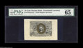 "Fractional Currency:Second Issue, Fr. 1244SP 10¢ Second Issue Wide Margin Pair. PMG has graded the Face 65 and the Back 55. The Face carries the comment ""grea... (2 items)"