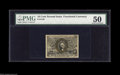 Fractional Currency:Second Issue, Fr. 1249 10¢ Second Issue PMG About Uncirculated 50. A very well-centered example of the only 10¢ fiber paper number. In our...