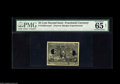 "Fractional Currency:Second Issue, 25¢ Second Issue Experimental PMG Net Gem Uncirculated 65. A very nice looking experimental on which PMG comments, ""Adhesive..."