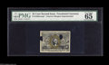 Fractional Currency:Second Issue, 25¢ Second Issue Experimental PMG Gem Uncirculated 65. A very nice example of this slightly scarcer experimental which has t...