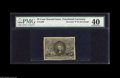 Fractional Currency:Second Issue, Fr. 1286 25¢ Second Issue PMG Extremely Fine 40. Quite a rare item, with less than 10 examples known, three of which are in ...