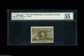 "Fractional Currency:Second Issue, Fr. 1322 50¢ Second Issue PMG About Uncirculated 55. Very well margined with the apt comment ""vivid details.""..."