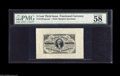 Fractional Currency:Third Issue, Fr. 1227SP 3¢ Third Issue Wide Margin Pair PMG Choice About Uncirculated 58. Quite a lovely pair. The face carries the cance... (2 items)
