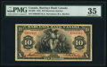 Canadian Currency, Montreal, PQ- Barclays Bank (Canada) $10 Jan. 2, 1935 Ch. #30-12-06. ...