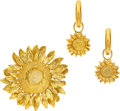 Estate Jewelry:Suites, Gold Jewelry Suite, Asprey. ... (Total: 2 Items)