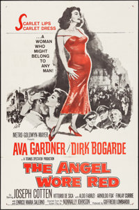 "The Angel Wore Red (MGM, 1960). One Sheet (27"" X 41""). War"