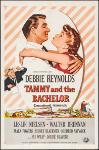 """Tammy and the Bachelor & Other Lot (Universal International, 1957). One Sheet & Military One Sheet (27"""" X 4..."""