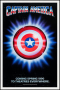 """Movie Posters:Action, Captain America (Columbia/Tristar, 1991). One Sheet (27"""" X 41"""")Advance. Action.. ..."""